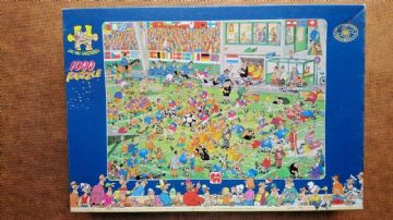 World Cup Championship Football 1000 Piece Jigsaw By Jumbo